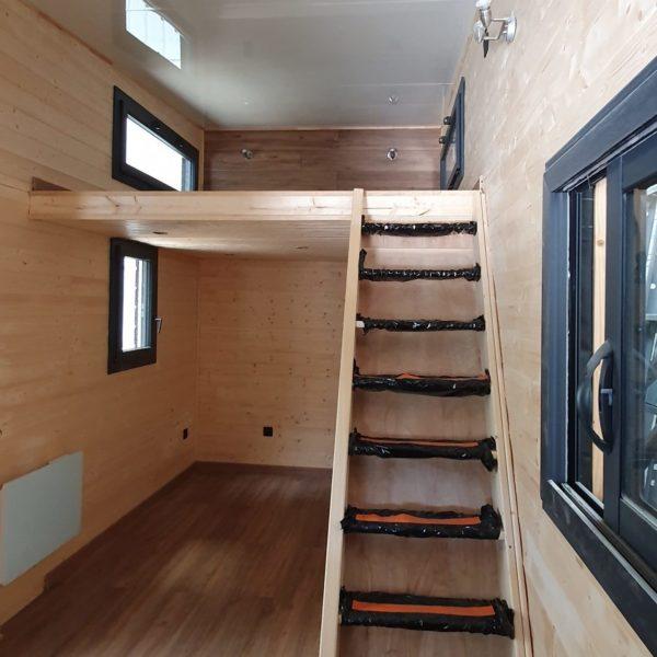Intérieur Tiny House sur mesure