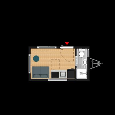 Tiny House 4m40